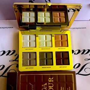 Cocoa Contour-Cocoa-infused contouring and highlighting palette